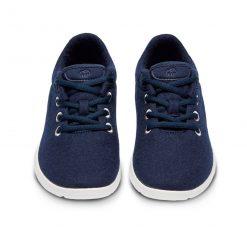 Merino Schuhe Blau Sneaker