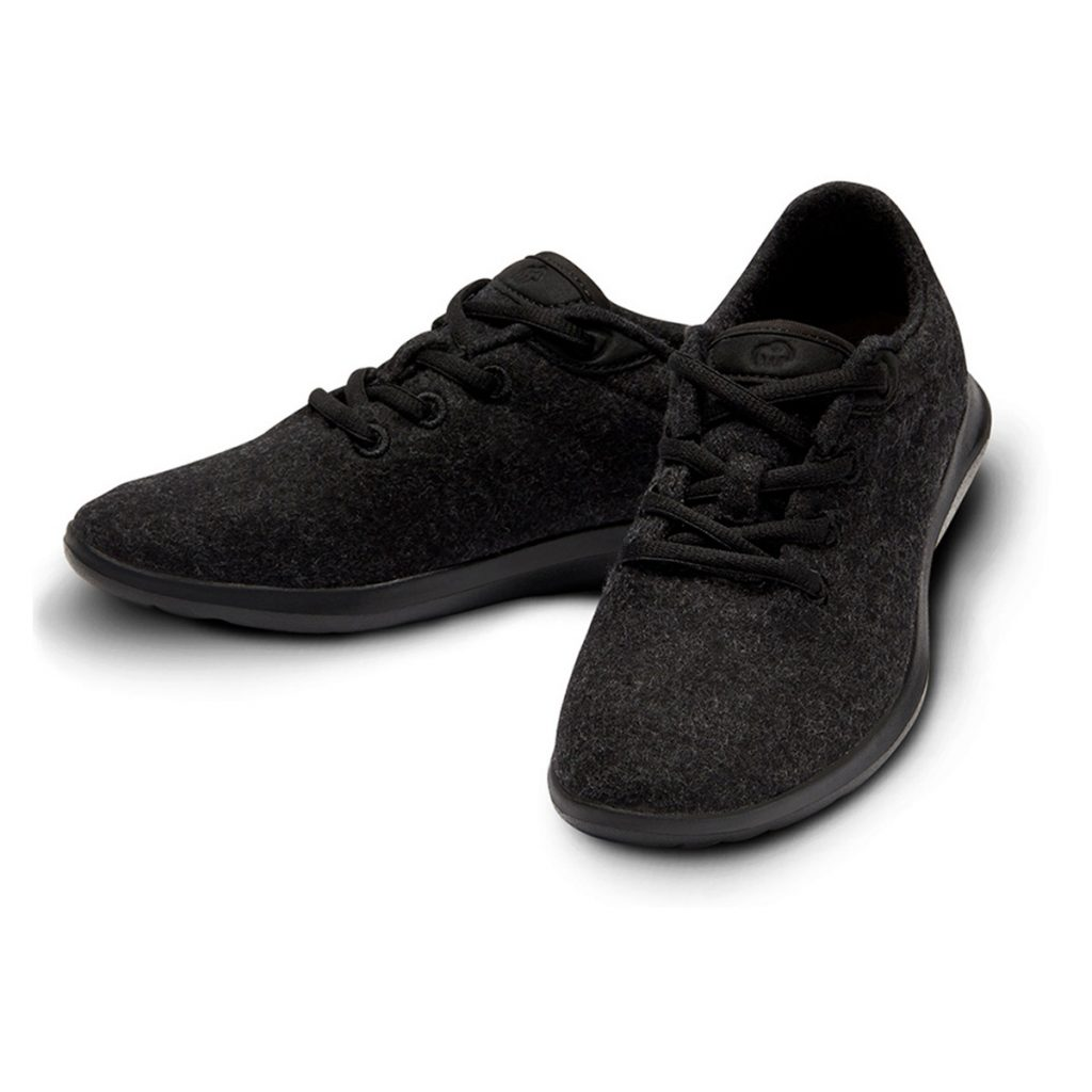 Merino Schuhe Schwarz Sneaker