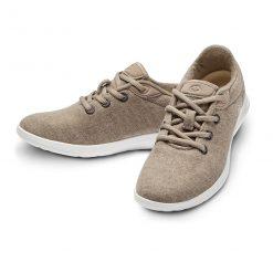 Merino Schuhe Beige Sneaker