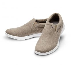 Merino Schuhe Beige Slipper