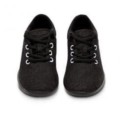 Merino Schuh schwarz-weiß