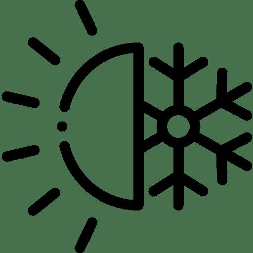Sonne/Schnee Icon